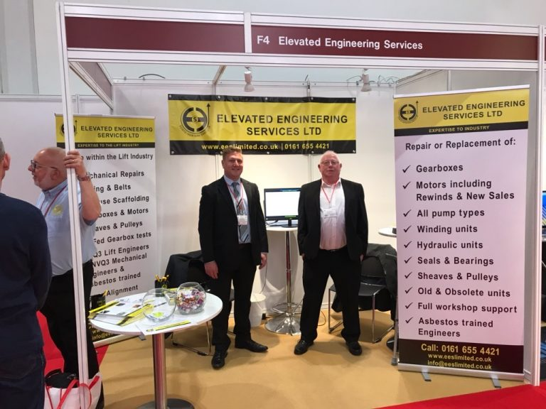 Elevated Engineering Services Ltd at the Liftex Exhibition in London